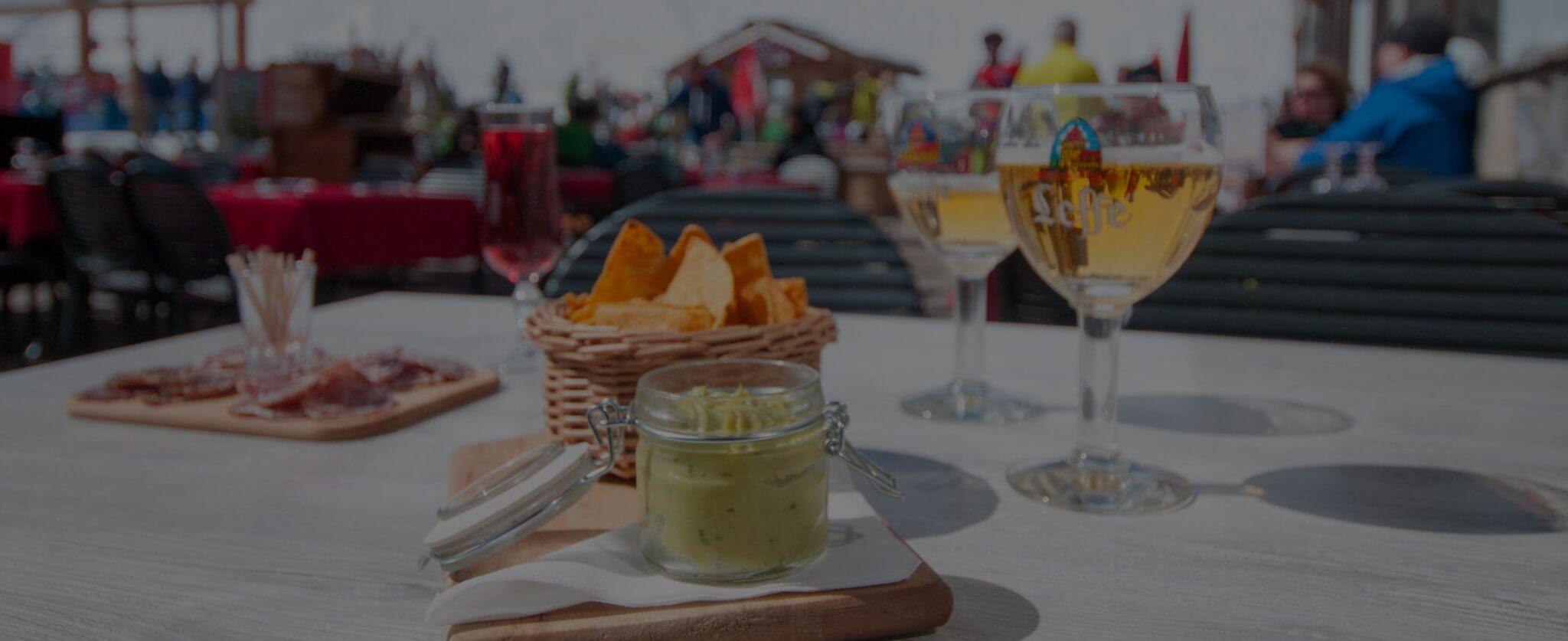 Pause goûter, après ski à Tignes